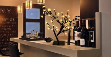 Bright Zeal 18″ Battery Operated LED Cherry Blossom Tree Lights