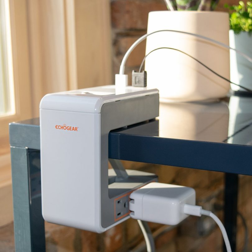Echogear Desk Clamp Power Station with 1080J