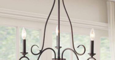 LALUZ 3 Lights Transitional Island Pendant