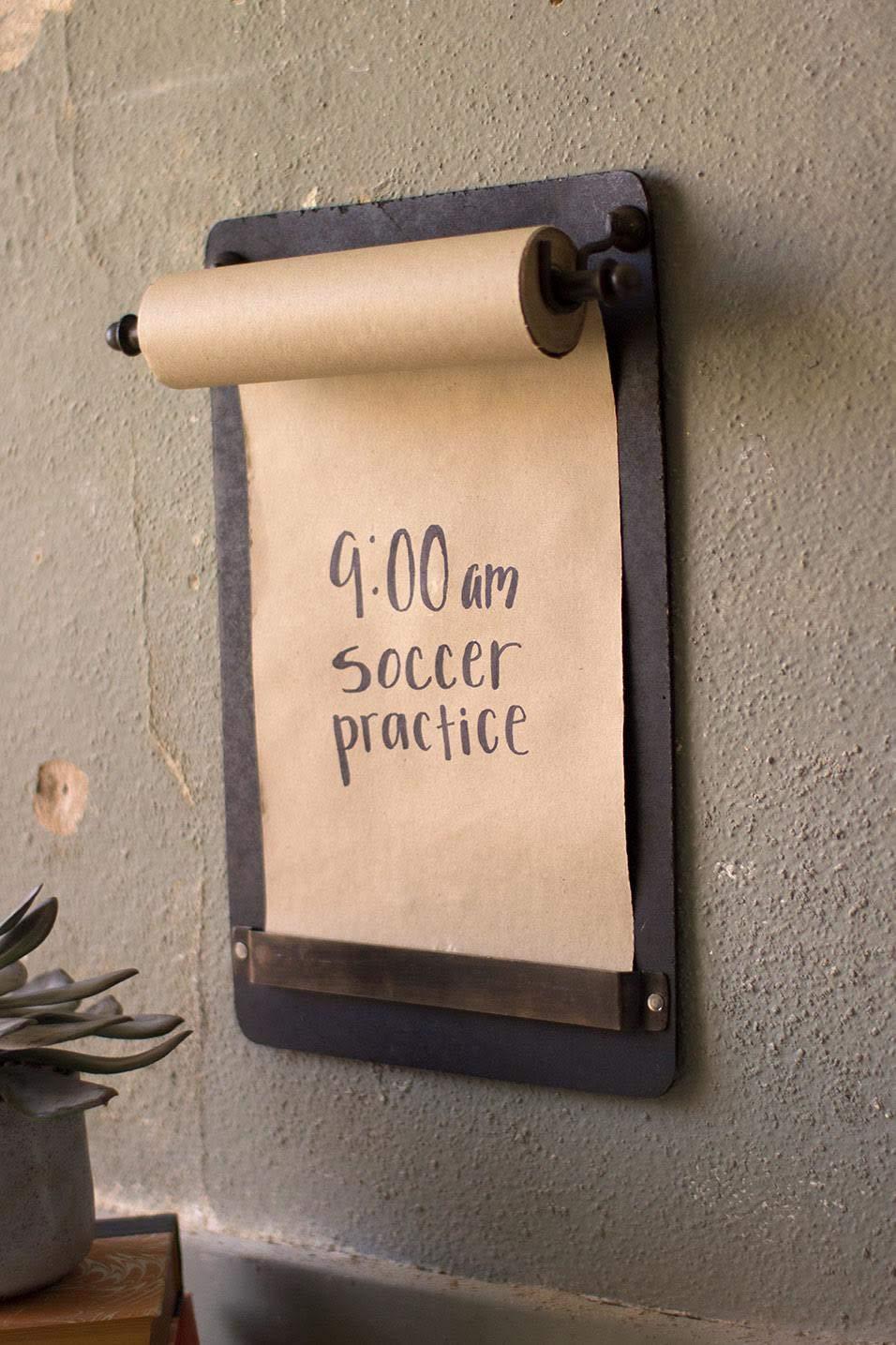 Kalalou Note Roll Wall Board