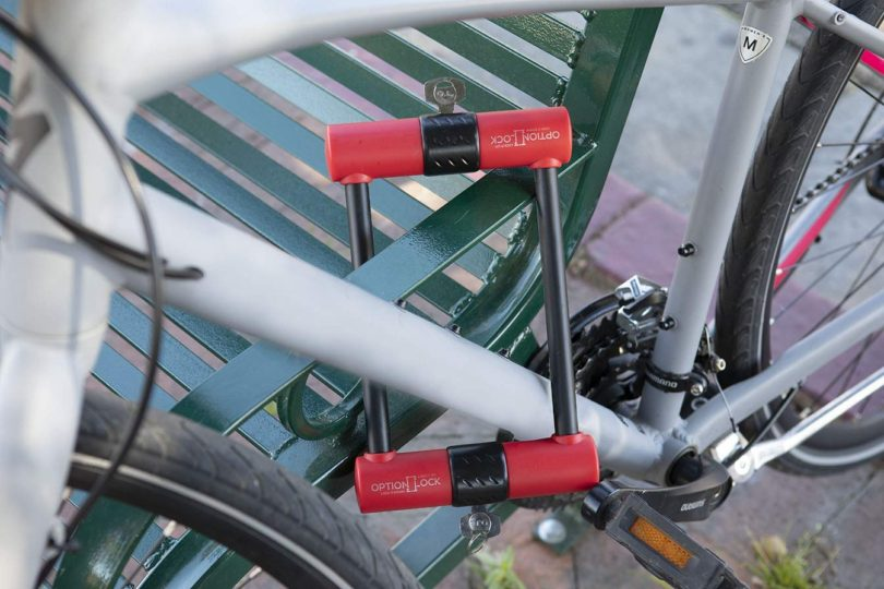 Option Lock: Original Two Sided Bike Lock