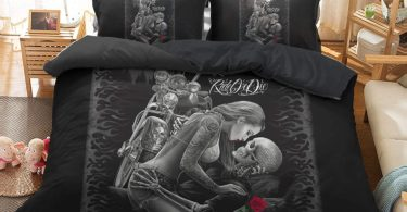 PATATINO MIO Skull Bedding Set