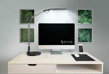 OTUS LED Architect Desk Lamp Wireless Charger