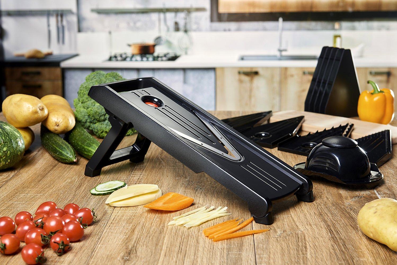 V-Blade Stainless Steel Mandoline Slicer