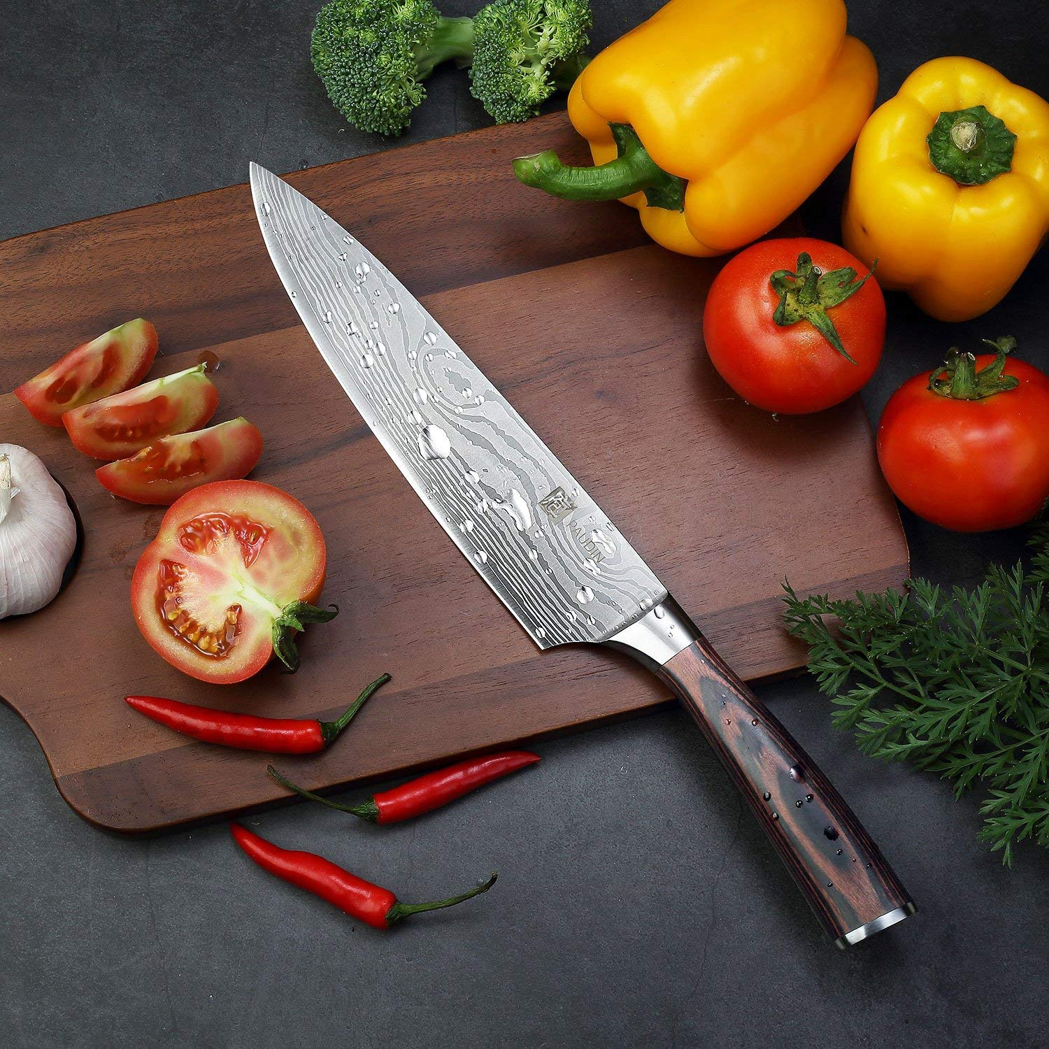 Chef Knife – PAUDIN Pro Kitchen Knife 8 Inch Chef's Knife
