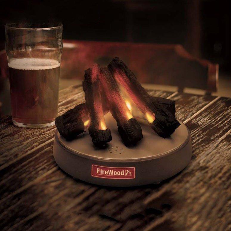 FireWood Desktop Fire Place