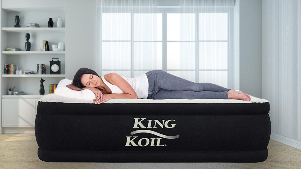 King Koil California King Luxury Raised Air Mattress