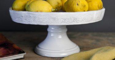 Pietra Shabby-Chic Handmade Cake Stand