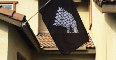 Game of Thrones Stark Sigil Banner
