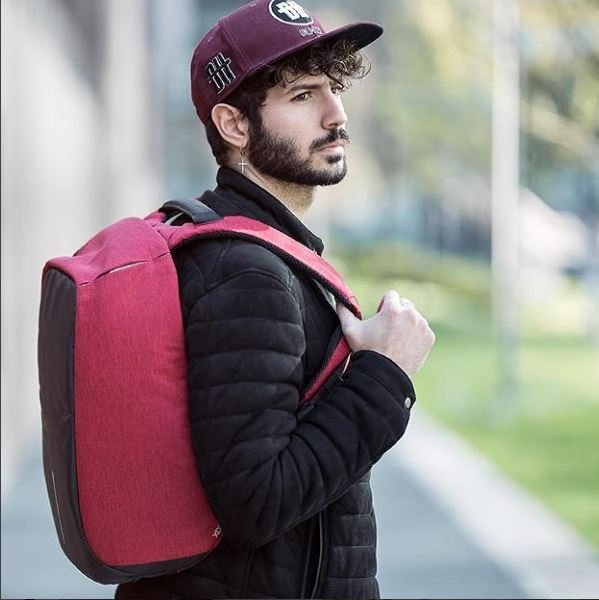Red Bobby Original Anti-Theft Backpack