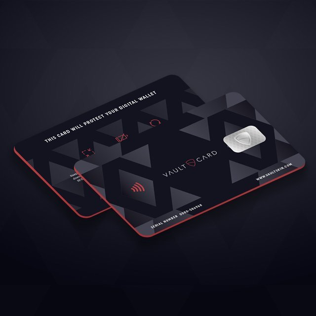 VaultCard RFID Blocking Card by Vaultskin