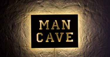 Man Cave LED Sign