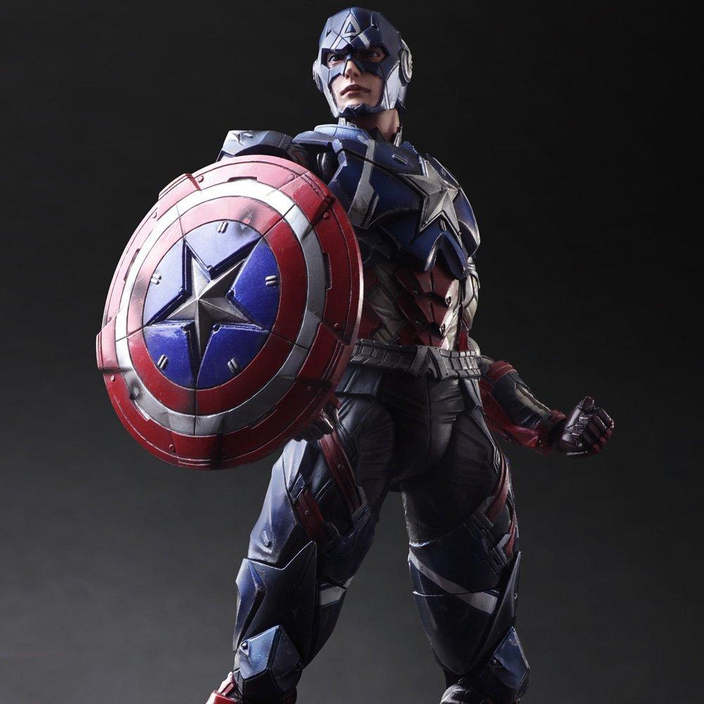 Marvel Universe Captain America Variant PAK Figure