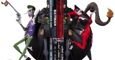 Batman Joker and Harley Bookends Statue