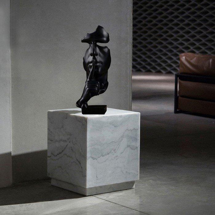Silence Resin Statue