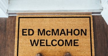 Ed McMahon Welcome Brown Coir Doormat
