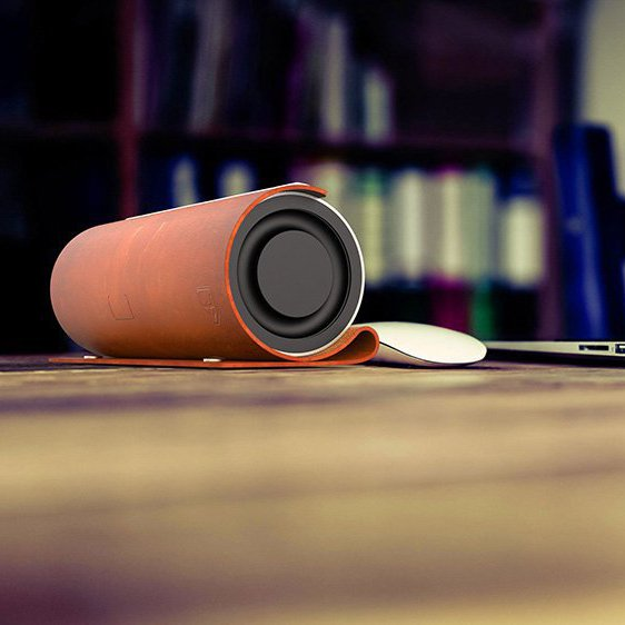 Abra Mobility Leather Bluetooth Speakers