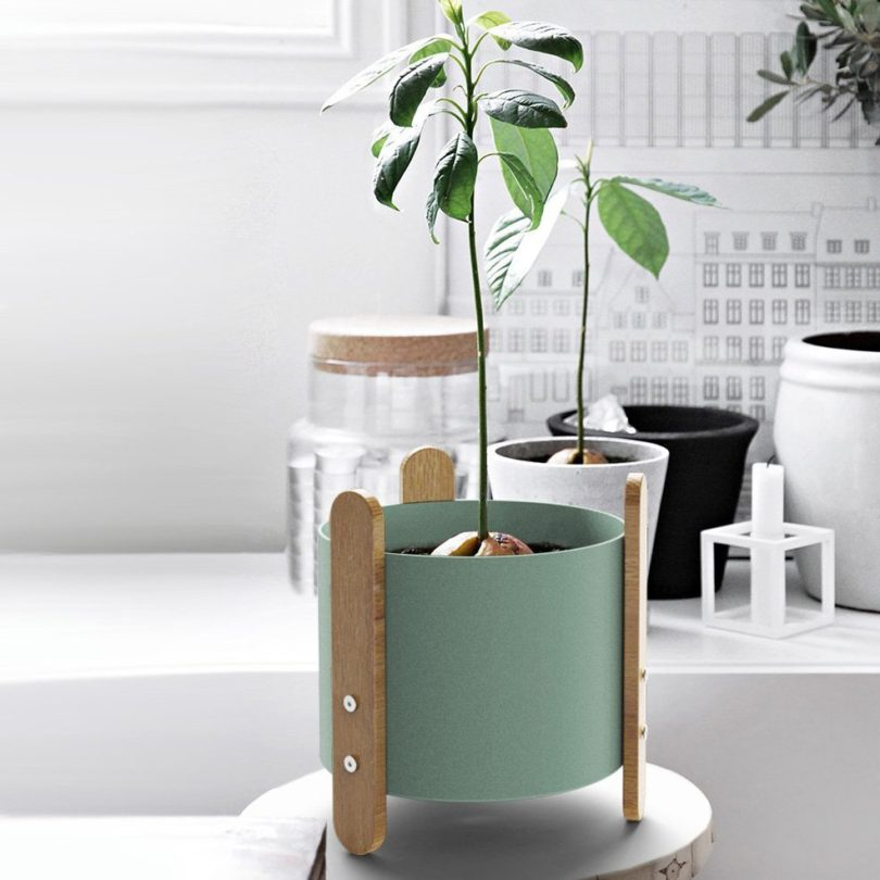 Cylin Stand Planter
