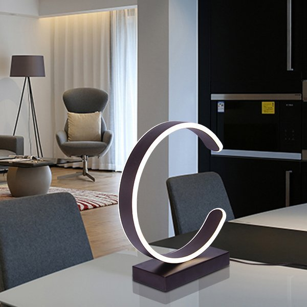 C-shaped Light Lamp
