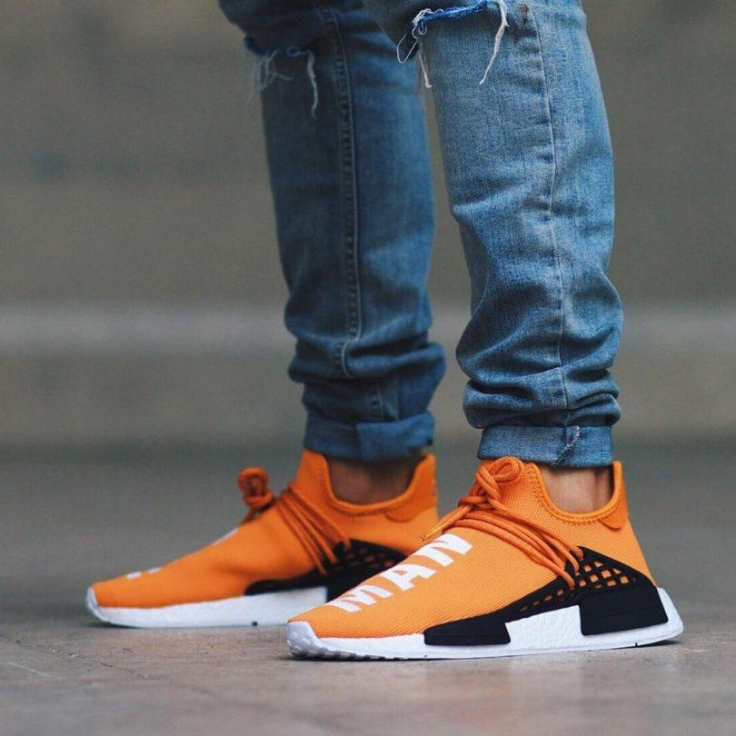 Adidas PW NMD Human Race Tangerine