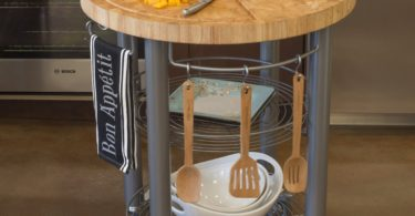 Stadium Series Round Kitchen Island