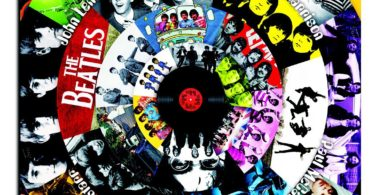 Beatles CD Collection Canvas