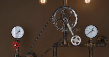 Vintage Gear Wall Light Fixtures Industrial Lighting