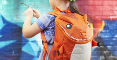 Orange-o-saurus Backpack