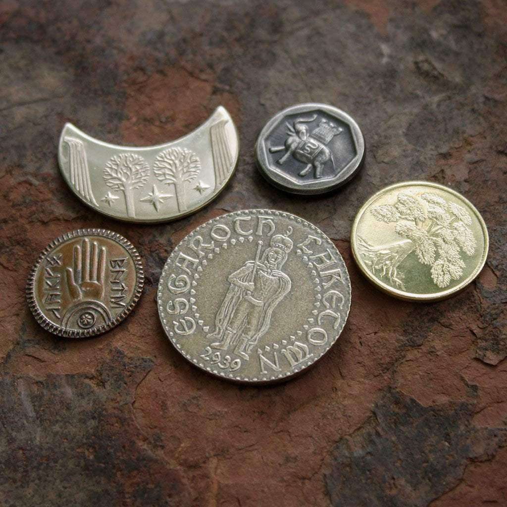 The Lord of the Rings Set #2 Middle-earth Set of Five Coins