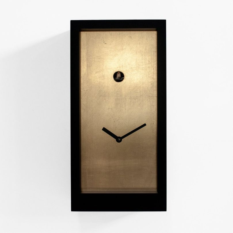 Fort Knox Cuckoo Clock by Progetti