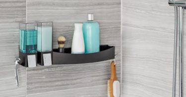 CLEVER Double Dispenser + Flip Shower Shelf