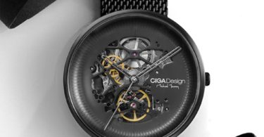 CIGA Hollow Machinery Watch