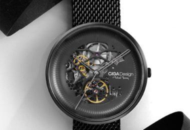 CIGA Hollow Machinery Watch