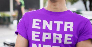 Entrepreneur Purple T-shirt