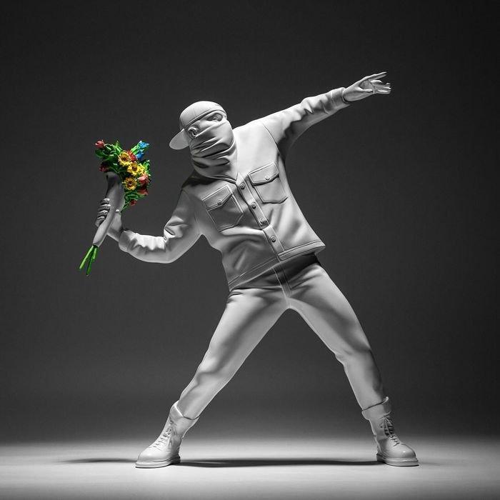 Medicom x Banksy Flower Bomber 2016