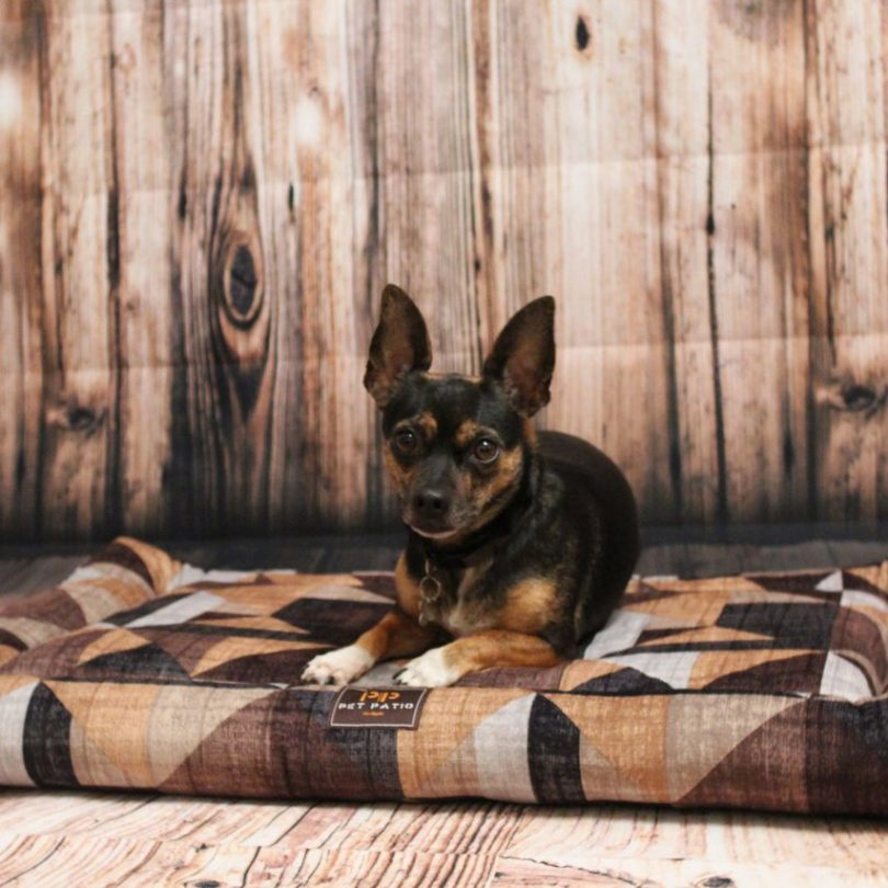 Orthopedic Handmade Dog Bed with Washable Cover