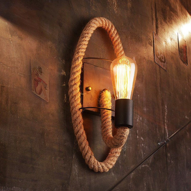 Vintage Industrial Bedside Light Retro Lamp