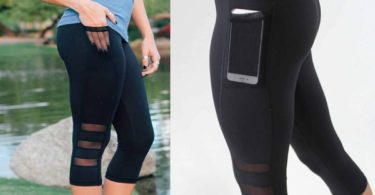 Skinny Mesh Yoga Leggings