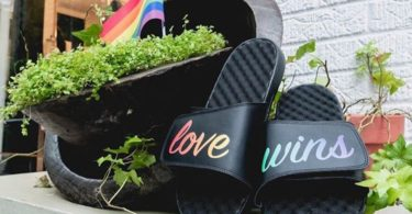 Love Wins Slide Sandals