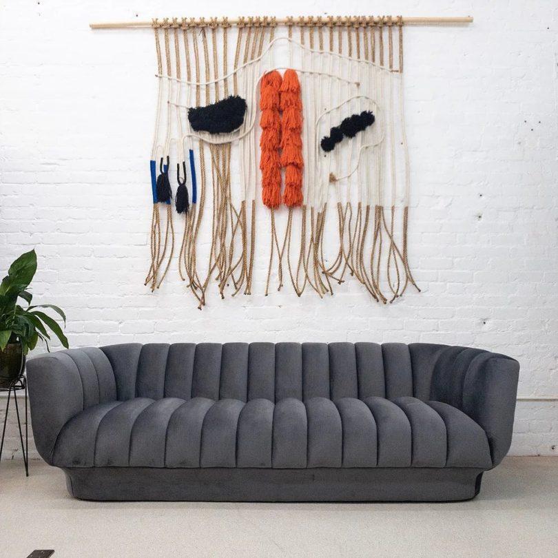 Melody Pleated Sofa