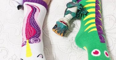 Dragon & Unicorn Mismatched Socks