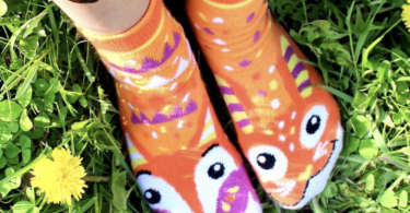 Fox & Bunny Mismatched Socks