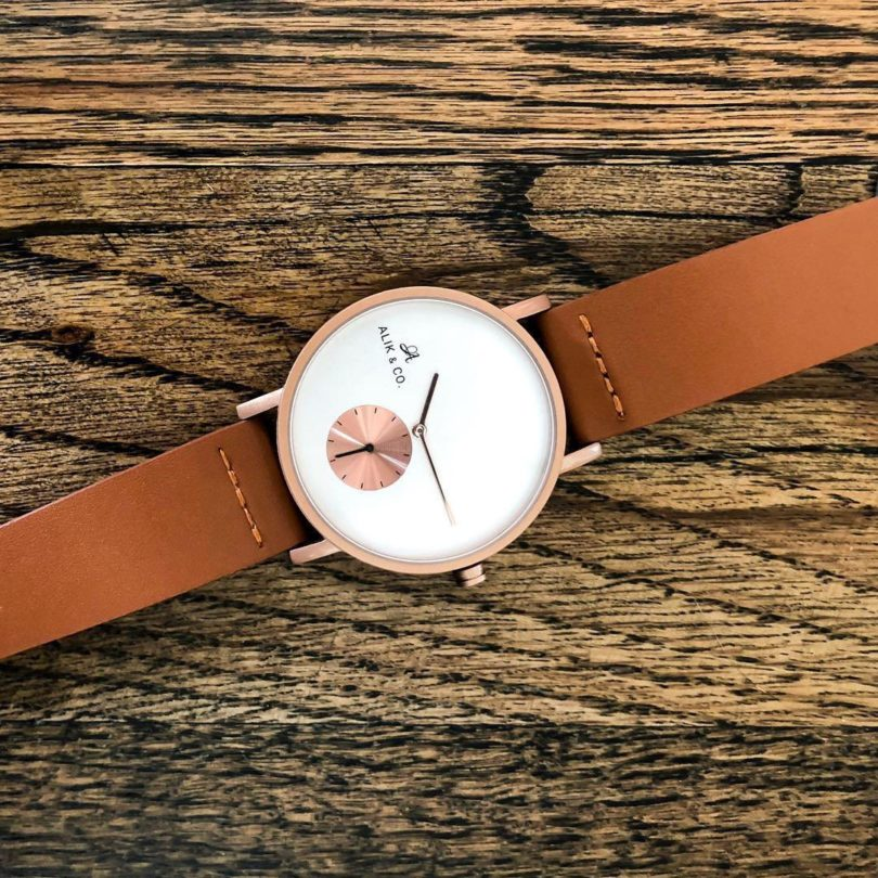 Rosewood Watch