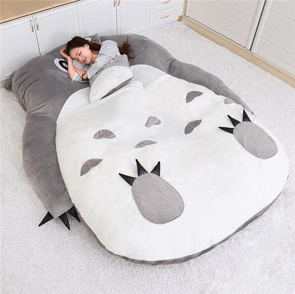 Cute Double Bed Cartoon Beanbag Sofa Bed