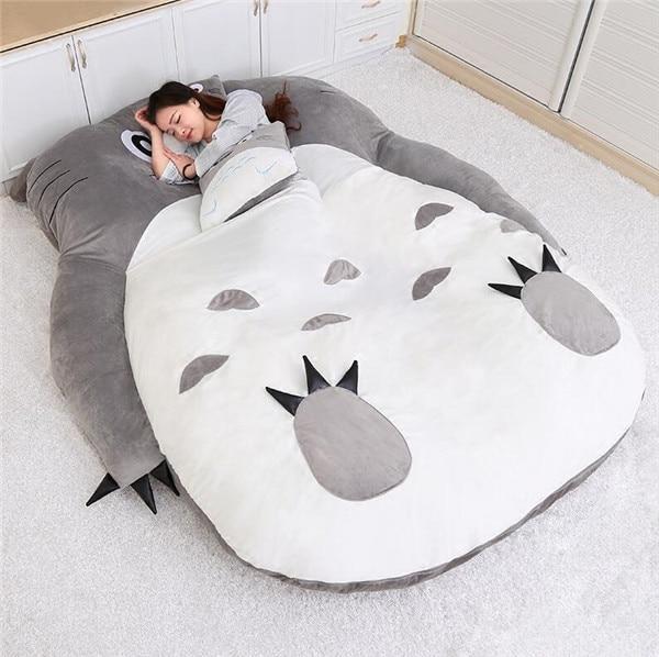 Cute Double Bed Cartoon Beanbag Sofa Bed