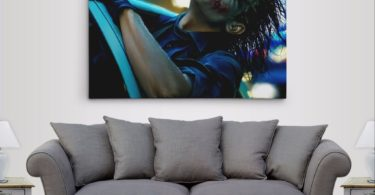 Batman Dark Knight The Joker's Joy Ride Gallery Canvas Wall Art