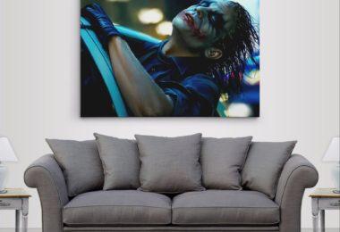 Batman Dark Knight The Joker's Joy Ride Gallery Canvas Wall Art