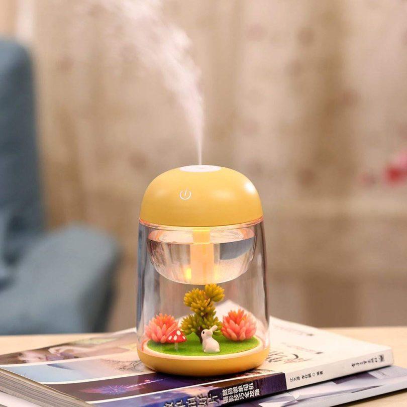 Landscape Lamp Essential Oil Diffuser Night Light Decoration