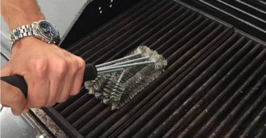 foya BBQ Grill Brush Stainless Steel 3-in -1