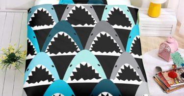 SDIII 3PC Shark Bedding Sets Ocean Themed